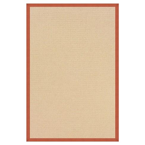 Athena Wool Area Rug - Orange (8' X11') - image 1 of 1