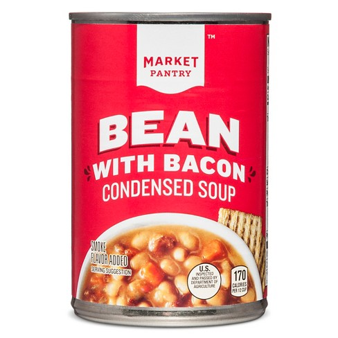 Bean with Bacon Condensed Soup 11.25oz - Market Pantry™ - image 1 of 2