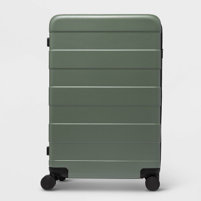 """Hardside 30.1"""" Spinner Suitcase Green - Made By Design™"""