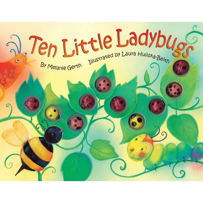 Ten Little Ladybugs - Target Exclusive Edition by Melanie Gerth (Hardcover)