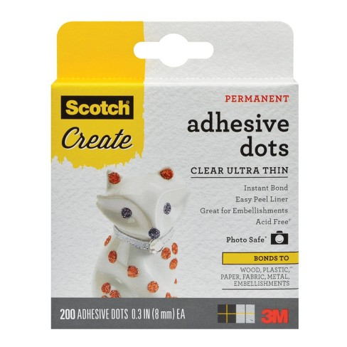 Scotch CLEAR SCOTCH DOTS MEDTHIN 200CT - image 1 of 4