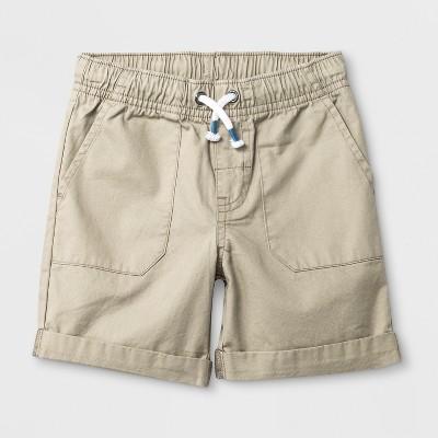Toddler Boys' Pull-On Shorts - Cat & Jack™ Vintage Khaki - 12M