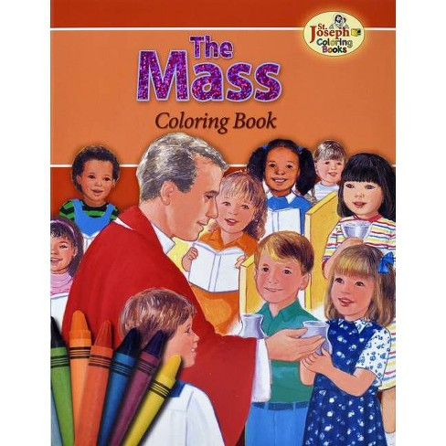 Coloring Book about the Mass - by  Emma C MC Kean (Paperback) - image 1 of 1