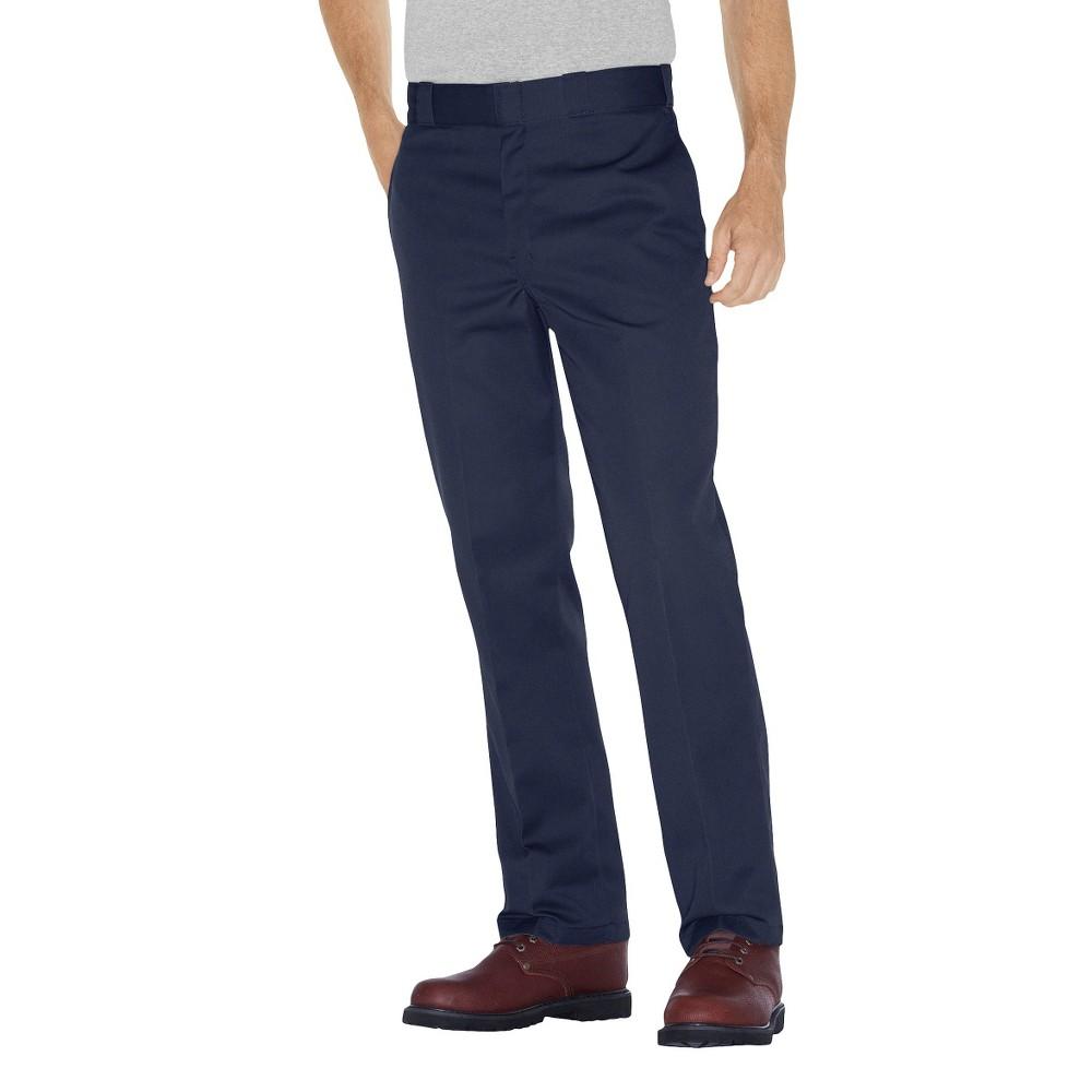 Dickies - Men's Big & Tall Original Fit 874 Twill Pants Dark Navy 44x30