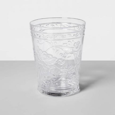 16oz Plastic Floral Embossed Short Tumbler - Opalhouse™ - image 1 of 1