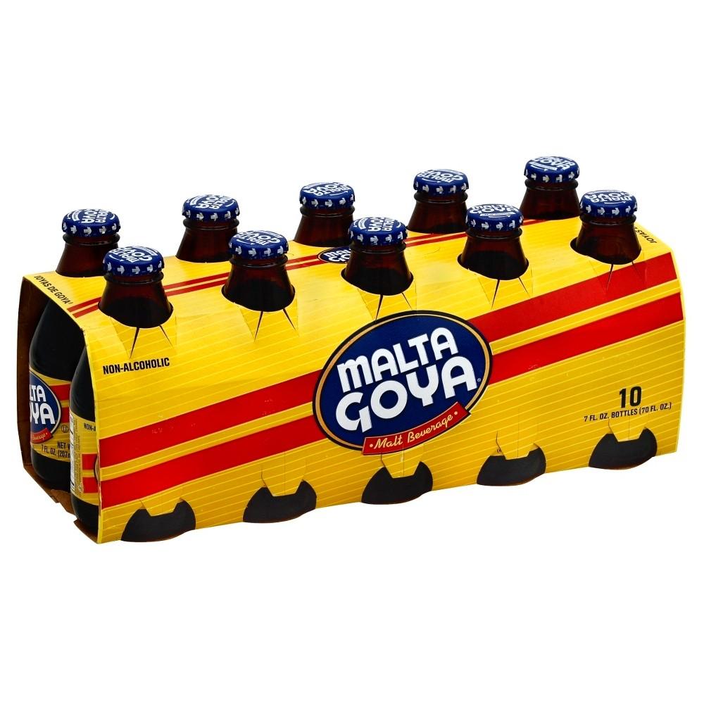 Malta Goya - 10pk/7 fl oz Glass Bottles