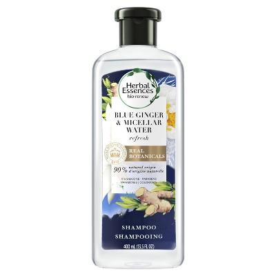 Shampoo & Conditioner: Herbal Essences Bio:Renew Blue Ginger & Micellar Water