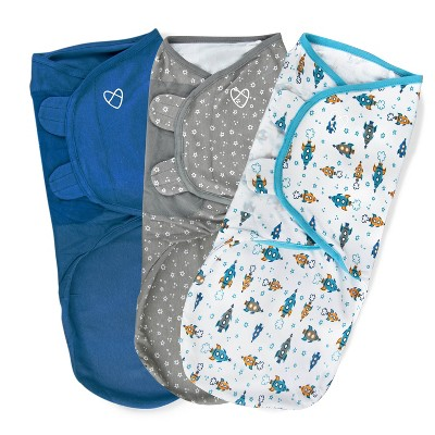 SwaddleMe Original Swaddle 3-6 Months - 3pk Superstar L