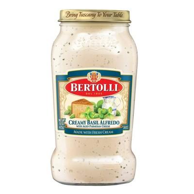 Bertolli Creamy Basil Alfredo Sauce - 15oz