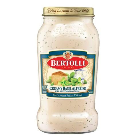 Bertolli Creamy Basil Alfredo Sauce - 15oz - image 1 of 4