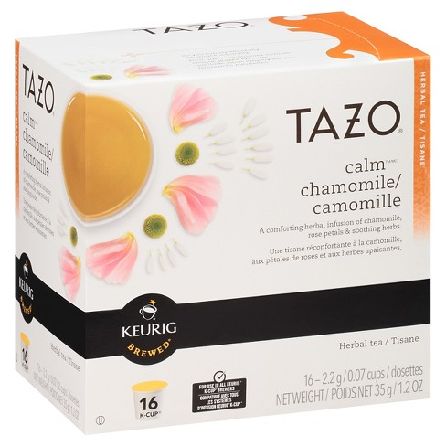 Tazo® Calm Chamomile Tea K-Cup Pods - 16ct - image 1 of 4