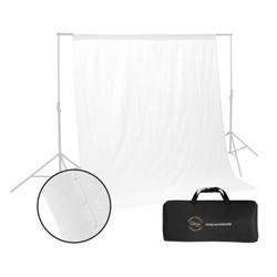 Glow Muslin Background - 10 x 10 ' (White)