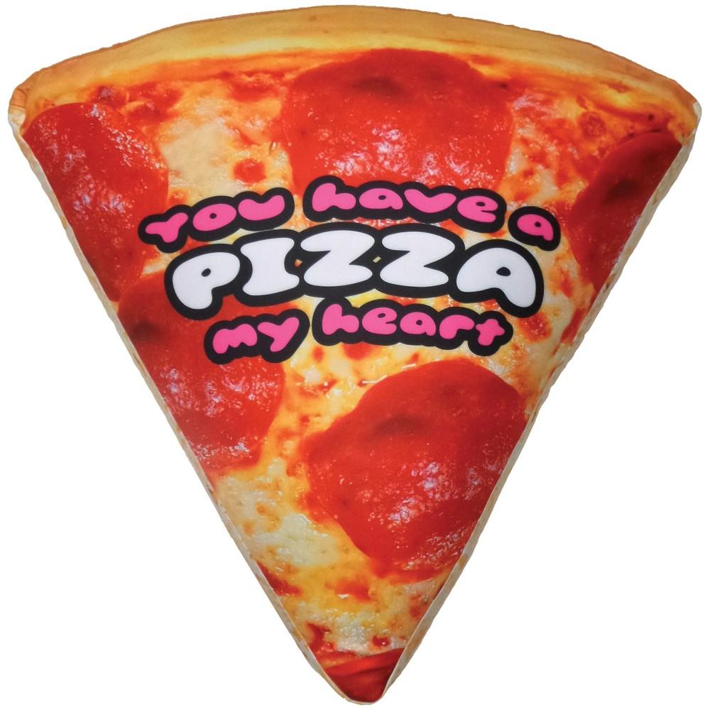 Image of Pizza Microbead Pillow, Stuffed Animals and Plush