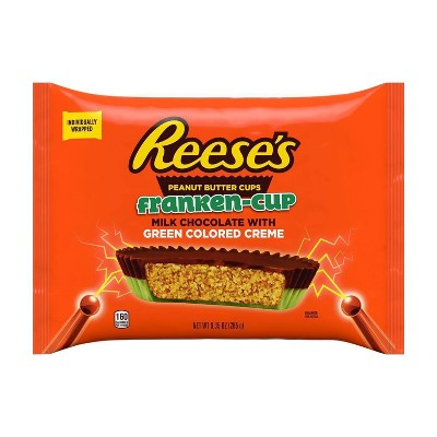 Reese's Halloween Peanut Butter Frankencup Snack Size - 9.35oz