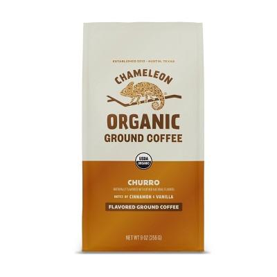 Chameleon Organic Churro Flavored Light Roast Ground Coffee - 9oz