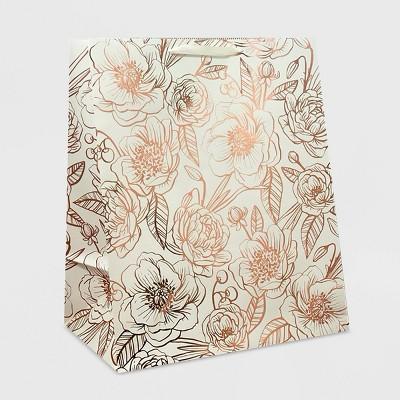 XLarge Foil Flowers Jumbo Gift Bag - Spritz™