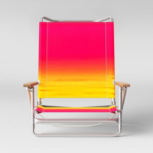 5 Position Beach Chair - Sun Squad™ - image 1 of 4