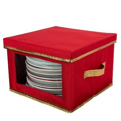 Dinner Plate Dinnerware Storage Box - Simplify