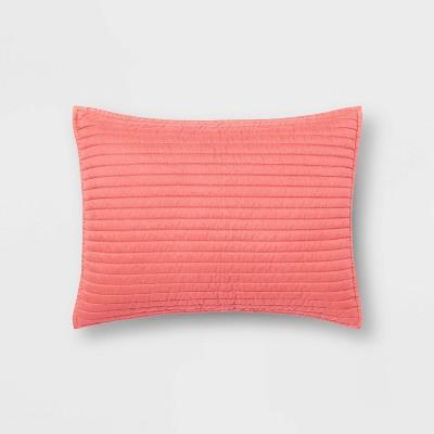 Standard Garment Washed Microfiber Quilt Sham - Room Essentials™