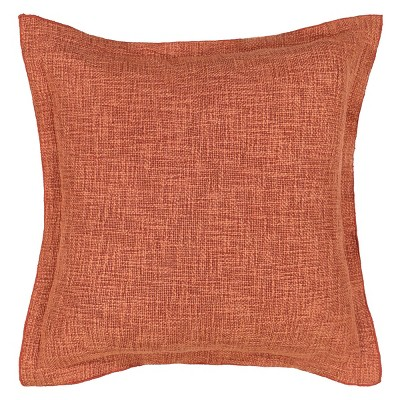 "Waverly Arezzo 18""x18"" Throw Pillow Rust"