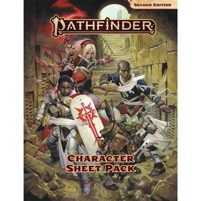 Character Sheet Pack (2nd Edition) Ziplock