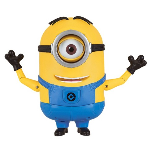 Despicable Me 3 - Talking Minion Stuart Action Figure - image 1 of 5