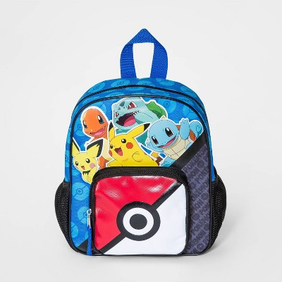 Kids' Pokemon Mini Backpack - Black/Blue