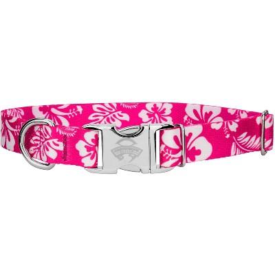 Country Brook Design® Premium Pink Hawaiian Dog Collar