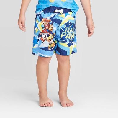 Toddler Boys' PAW Patrol Swim Trunks - Blue