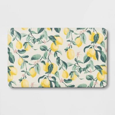 "30"" x 18"" Lemon Print Comfort Mat - Threshold™"