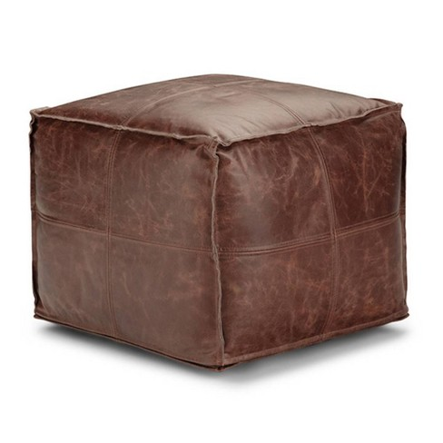 Erving Square Pouf - WyndenHall - image 1 of 4