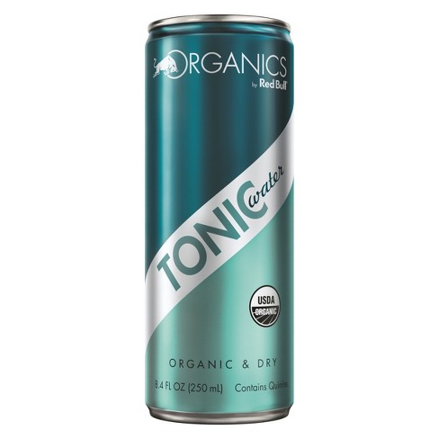 Red Bull Organics Tonic Water Energy Drink - 8.4 fl oz Can - image 1 of 1