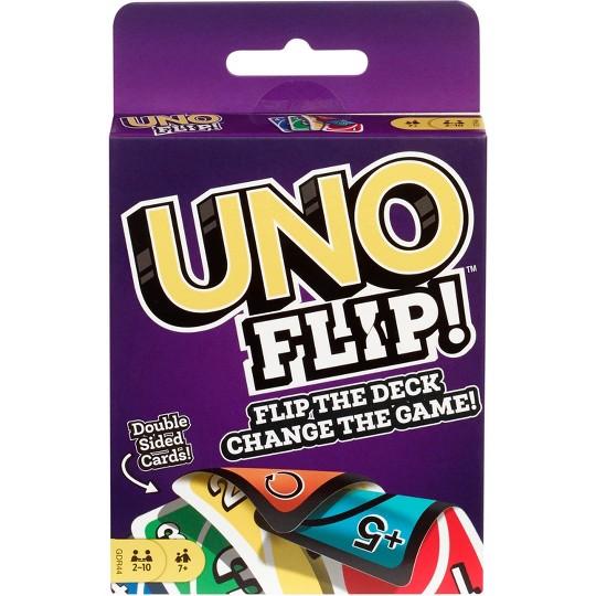 UNO Flip Card Game, Kids Unisex image number null