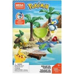 Mega Construx Pokemon Piplup vs Turtwig Battle Pack