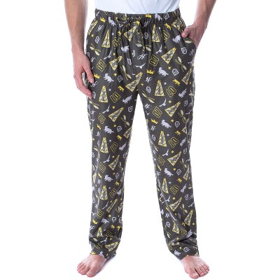 Harry Potter Adult Men's Quidditch House Pajama Pants - 4 Houses Available