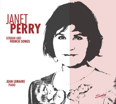Janet perry - German & french songs (CD) - image 1 of 1