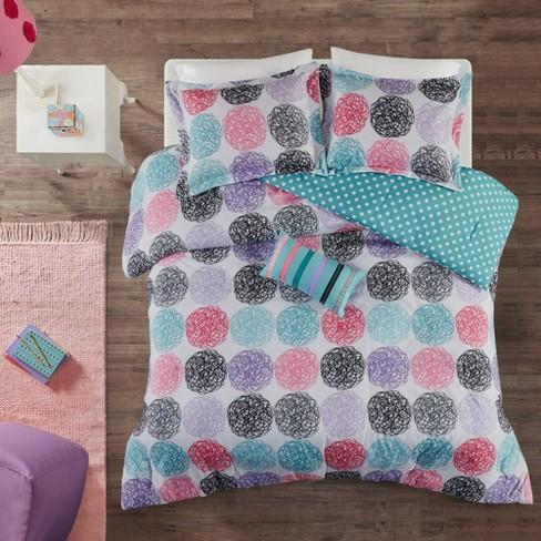 Purple Brittany Reversible Comforter Set