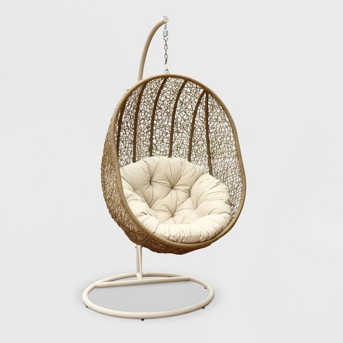 Brisa Outdoor Wicker Swing Chair - Abbyson Living - image 1 of 4