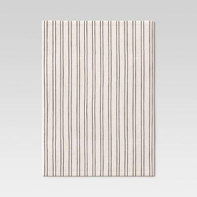 Cotton Striped Placemat Black/White - Threshold™