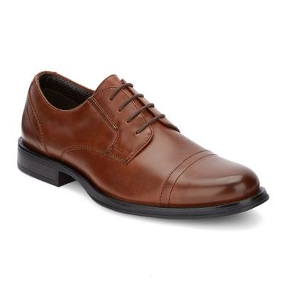 Dockers Mens Garfield Dress Cap Toe Oxford Shoe - Wide Widths Available