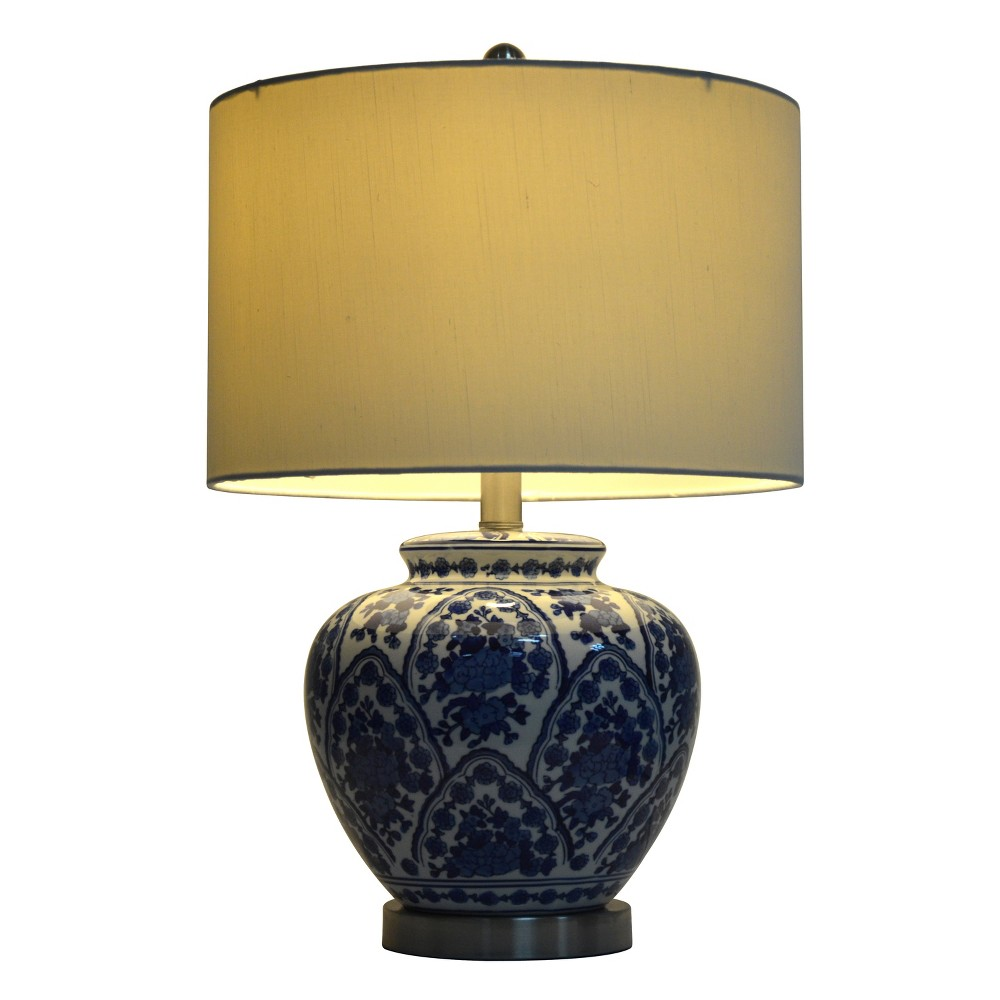 Image of 20 Ceramic Table Lamp Blue (Lamp Only) - Decor Therapy