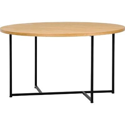 Stevenson Round Coffee Table, Natural - Adore Decor