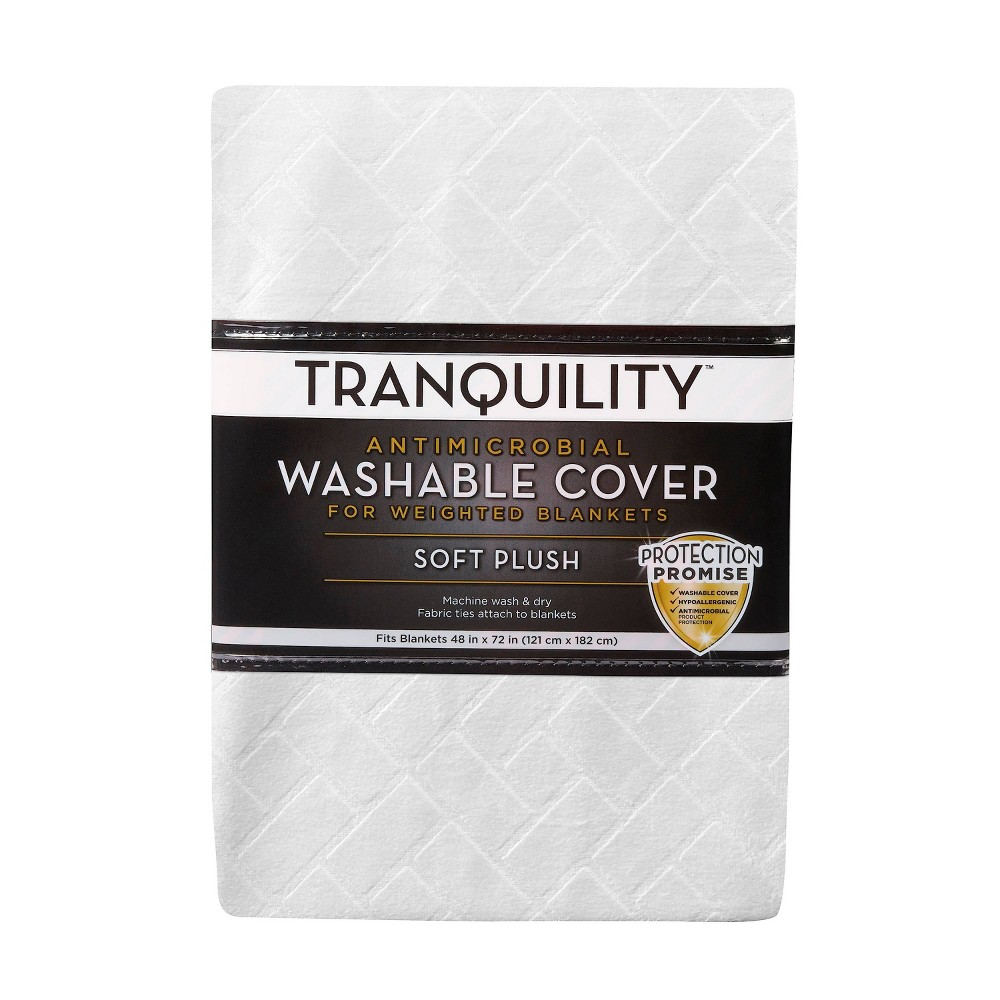 48 34 X 72 34 Cover For Weighted Blanket Ivory Tranquility