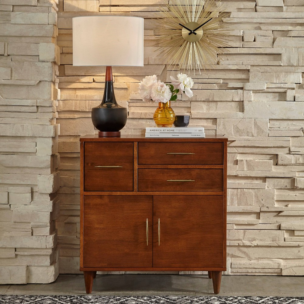 Image of Ana Entry Cabinet Oak - Lifestorey, Brown