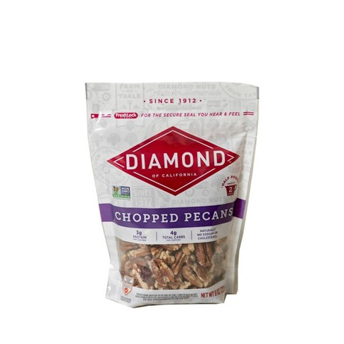 Diamond of California Chopped Pecans - 8oz - image 1 of 2