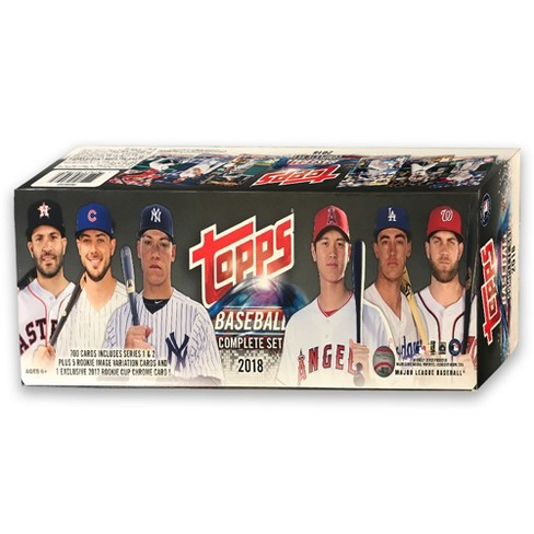 2018 Topps Mlb Baseball Completed Trading Card Game Set