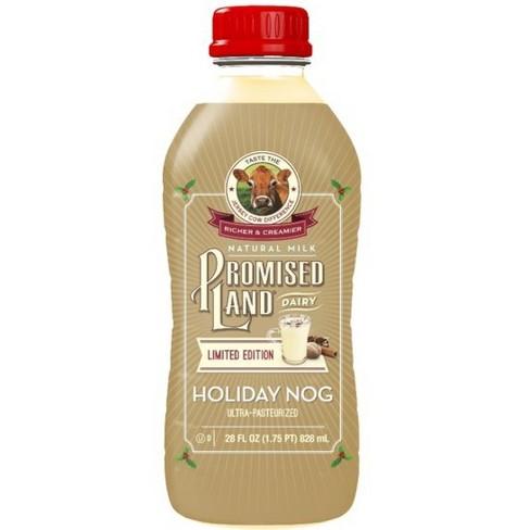 Promised Land Holiday Egg Nog Ultra Pasteurized Natural Milk - 28 fl oz - image 1 of 1