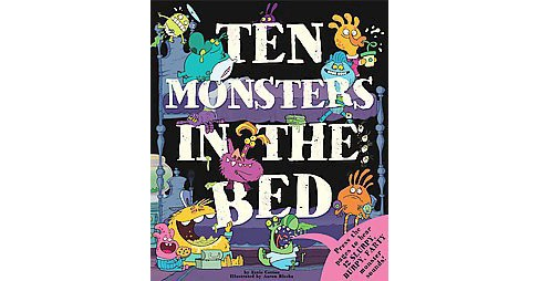 Ten Monsters in the Bed (Hardcover) (Katie Cotton) - image 1 of 1