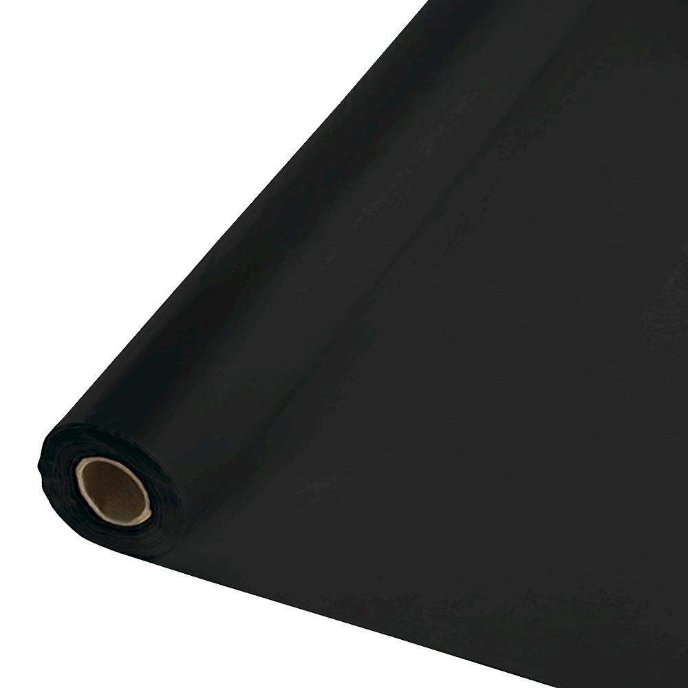 Black Disposable Tablecloth