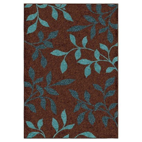 """Orian Rugs Dazzling Promise Transitional Area Rug - Brown (5'2"""" x 7'6"""") - image 1 of 4"""